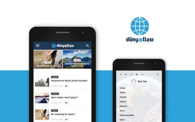Dünya Atlası Android Uygulaması
