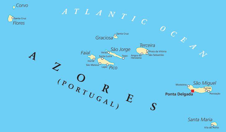 Azor haritası
