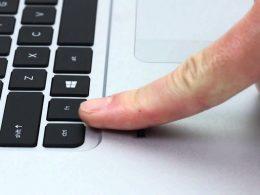 Parmak İzi Okuyan Klavye