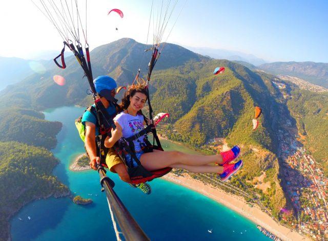 Türkiye'de Yamaç Paraşütü Yapılabilecek En Güzel Yerler