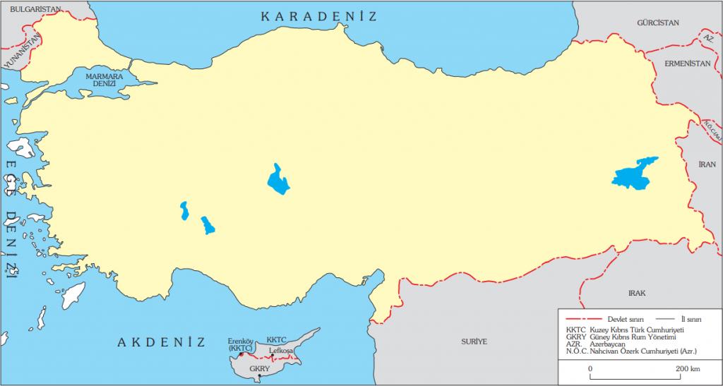 Türkiye Dilsiz Haritası