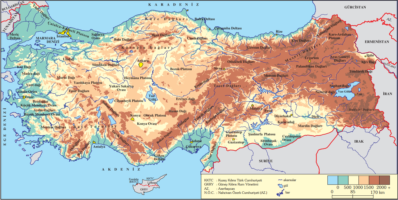 Haritalar Dünya Atlası
