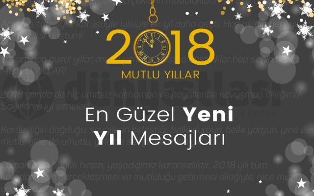 En Güzel Yeni Yıl Mesajları ve Etkileyici Yılbaşı Sözleri (2018)