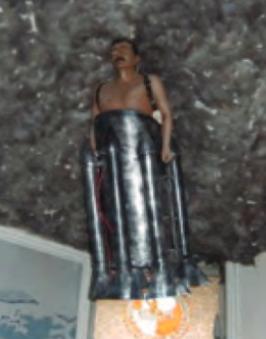 Lagari Hasan Çelebi'nin Ankara THK Müzesi'nde bulunan heykeli