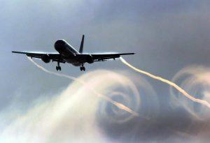 Uçaklardaki burgaç