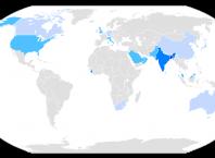 Dünya'da Hintçe Konuşan Ülkeler