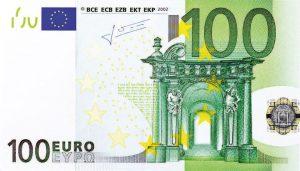 100 Euro Görseli
