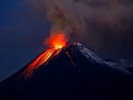 Dünyanın Bazı Aktif Yanardağları