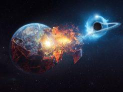 Dünya Bir Kara Delik Tarafından Yutulabilir mi?