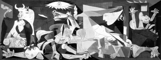 Pablo Picasso'nun Guernica Adlı Tablosu
