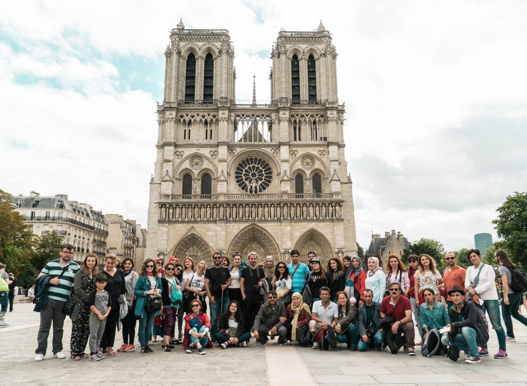 Avrupa Rüyası Katılımcıları (Paris, Fransa)