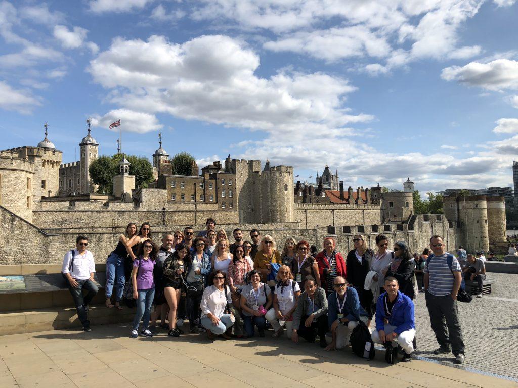 Avrupa Rüyası Britanya Turu Katılımcıları (Londra, İngiltere)