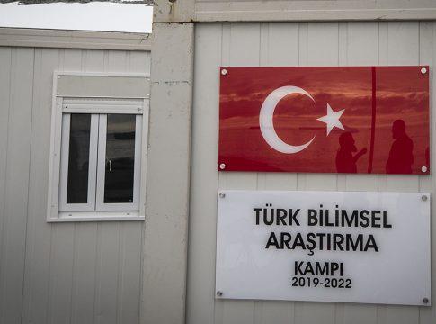 Türkiye Antarktika'da Geçici Bilim Üssünü Kurdu