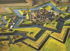 Fort Bourtange, Hollanda