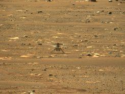 Mars'ta İlk Uçuş Başarıyla Gerçekleştirildi
