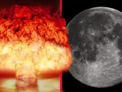 Ay'da Nükleer Bomba Patlatsak Ne Olurdu?
